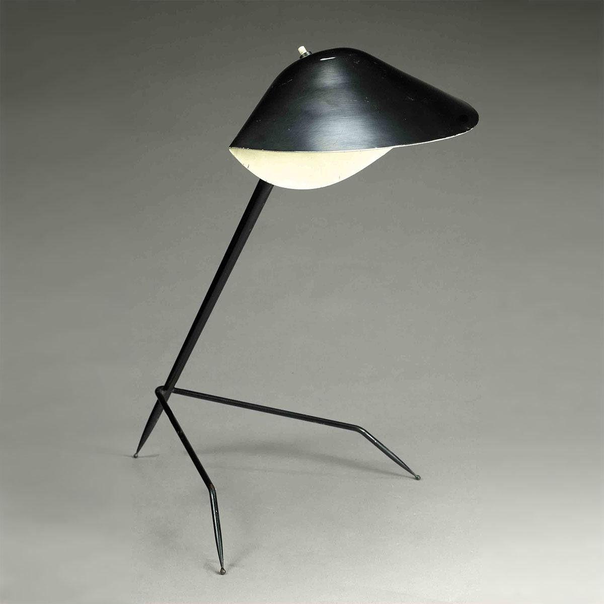 Lampe Tripode Serge Mouille   Applique, Lampe de bureau ...
