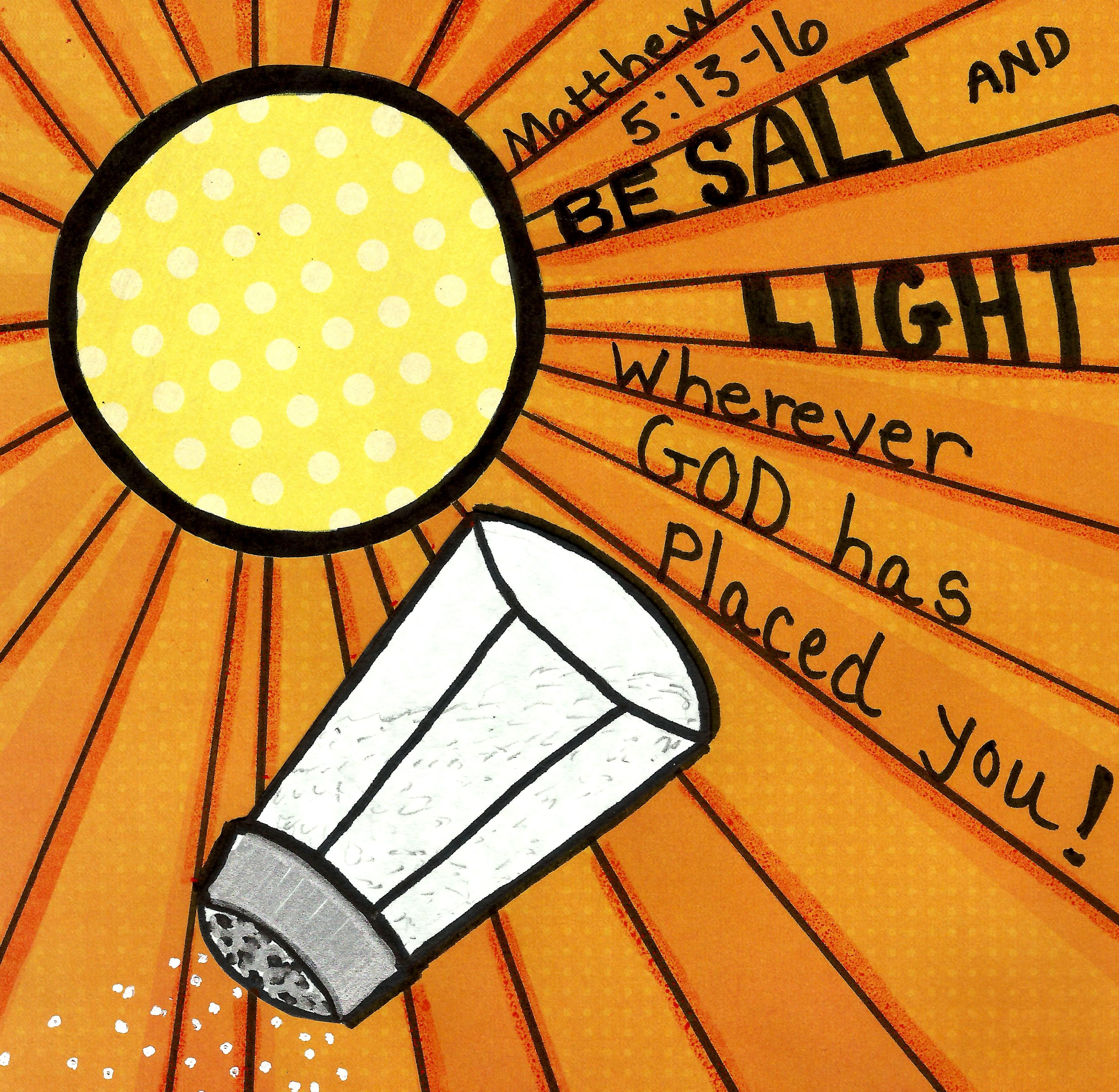 Be Salt And Light Matthew 5 13 16 Facebook