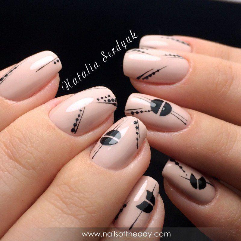 Очень красивый дизайн ногтей-163 фото -Фото дизайна ногтей 89