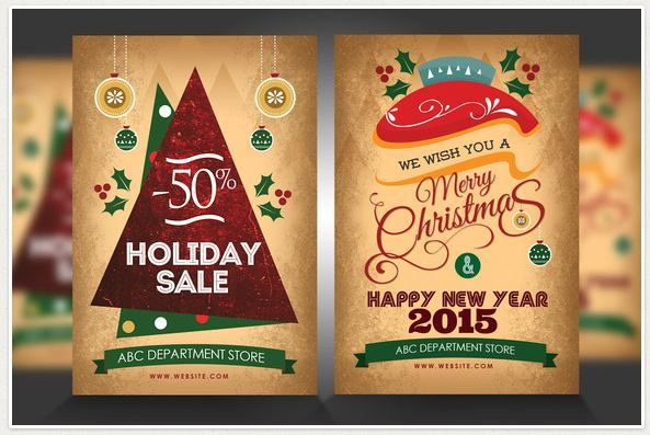 Happy New Year 2015 u2013 Flyer Template is one of the flyers online - holiday party flyer template
