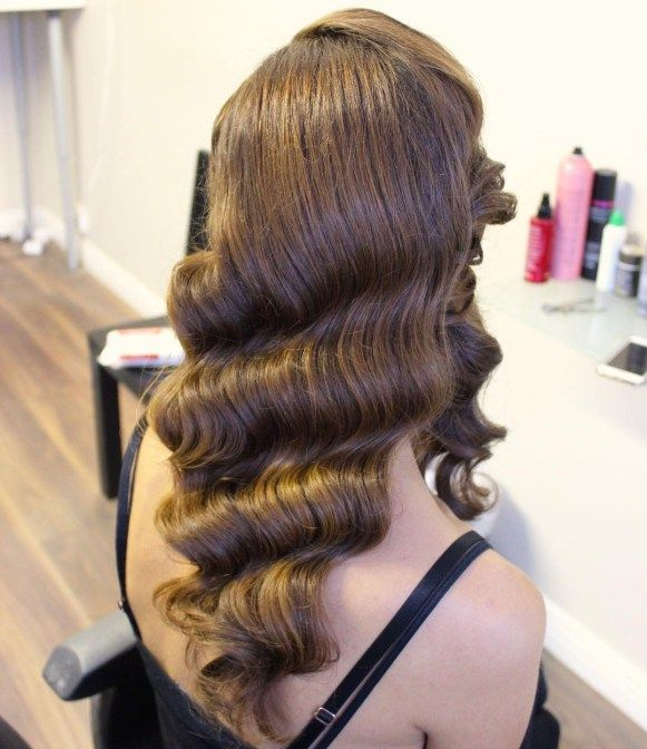 Finger Waves Wedding Hairstyle: 13 Easy Finger Waves Hair Styles You Will Want To Copy In