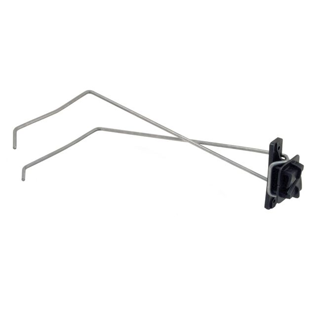 Electric Fence Wire Offset Insulator Bracket 18-171   Fence ...