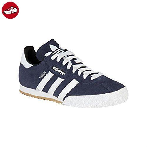 adidas Herren Sam Super Suede Turnschuhe - Marineblau Weiß, 9 UK   43.3 EU b79df8e863
