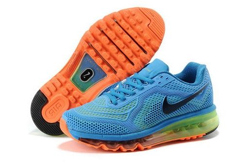 on sale 4f452 30e03 Nike Air Max 2014 Blue Orange Black Green Italy