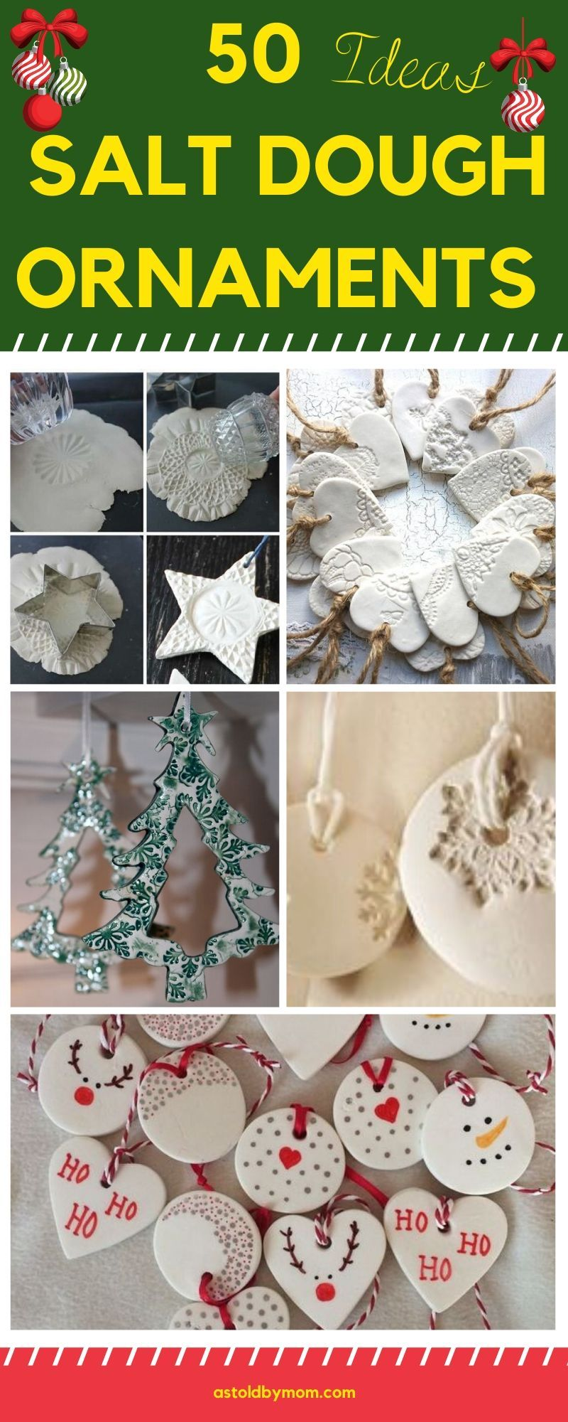 50 Salt Dough Ornaments Christmas Decorations As Told By Mom Salt Dough Christmas Ornaments Cheap Christmas Ornaments Cheap Christmas Crafts