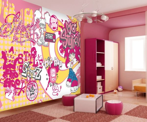 Perfekt Kinderzimmer Tapeten Ausgefallene Tapeten Ideen