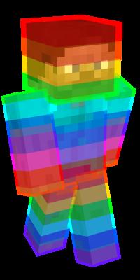 Rainbow Skins de Minecraft | NameMC en 2020 | Skins de ...