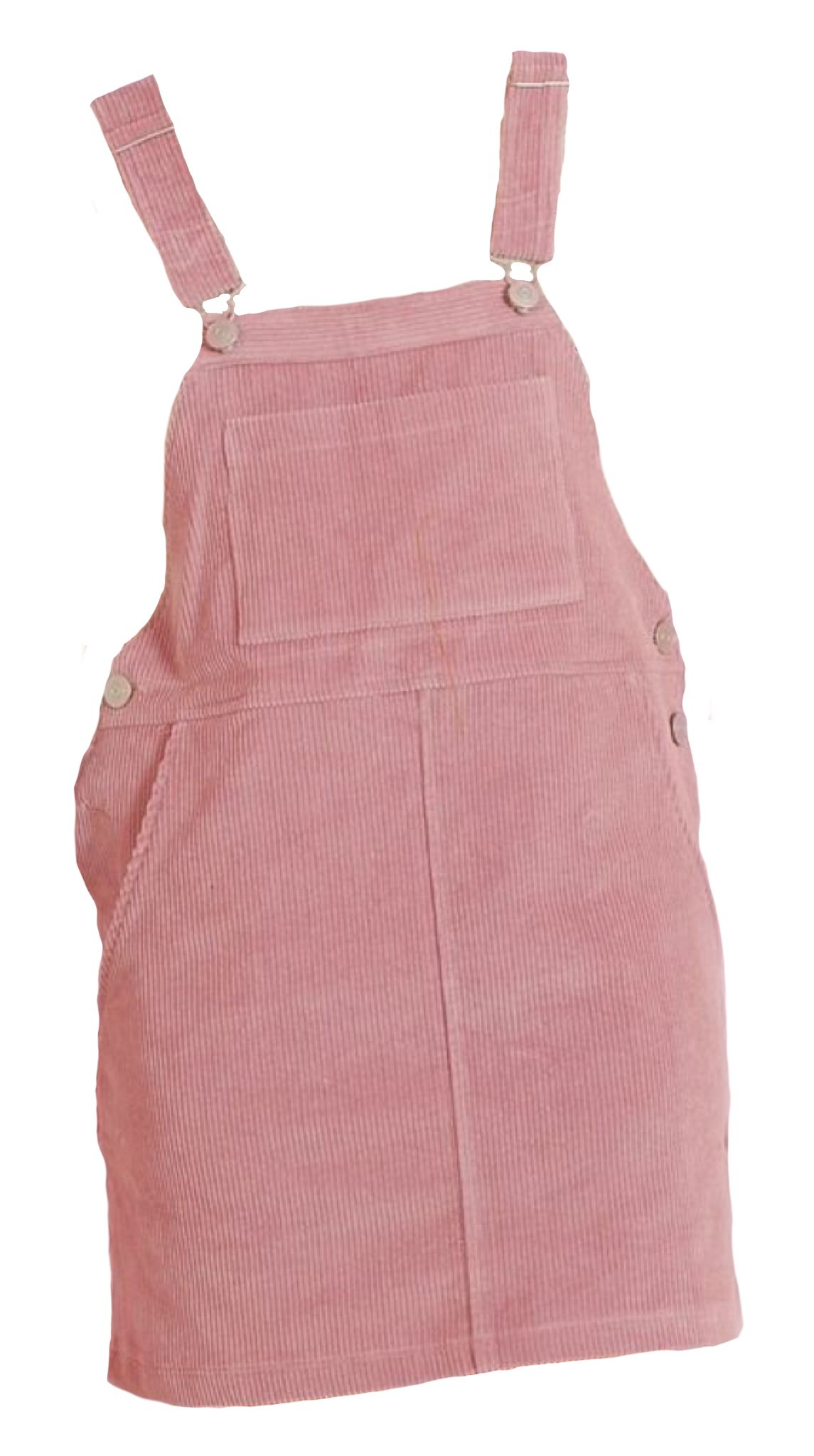 Pink Pinafore Corduroy Polyvore Png Overall Dress Fashion Outfits Pink Outfits Dress Png