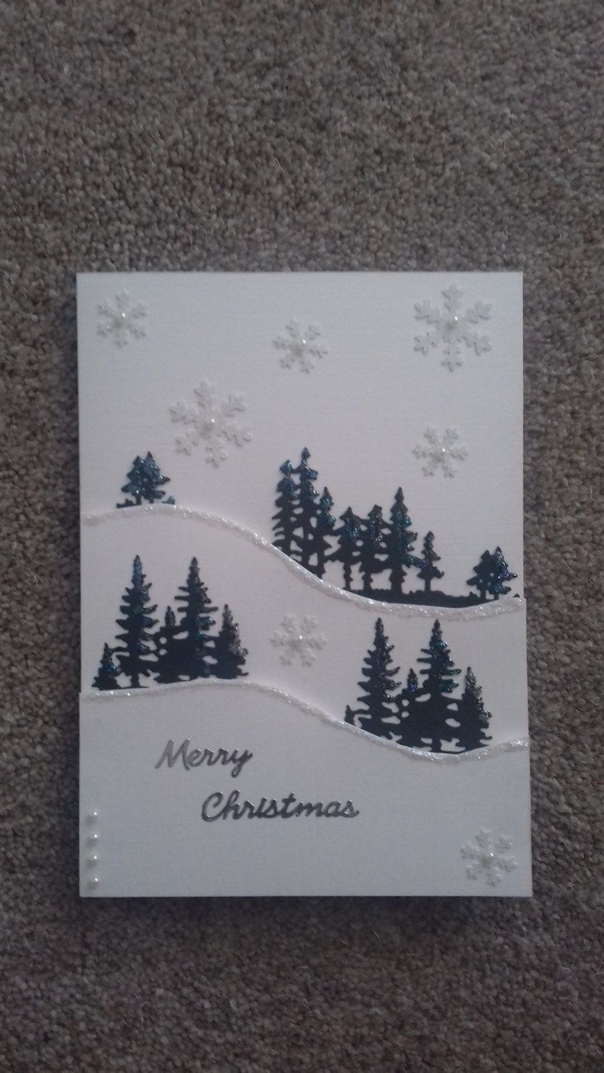 Christmas Card No. 35 - 2017 | Handmade christmas cards | Pinterest ...