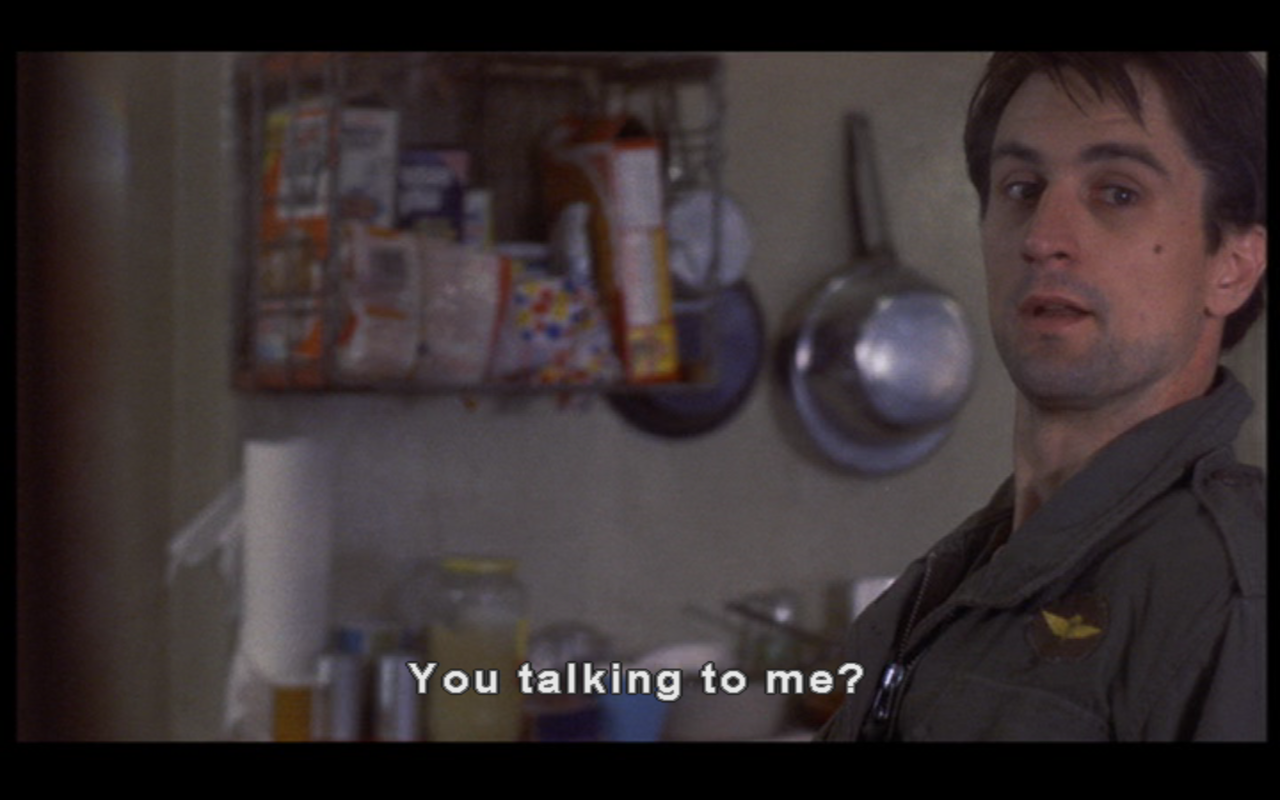 Taxi Driver Favorite movie quotes, Movie quotes, Taxi driver