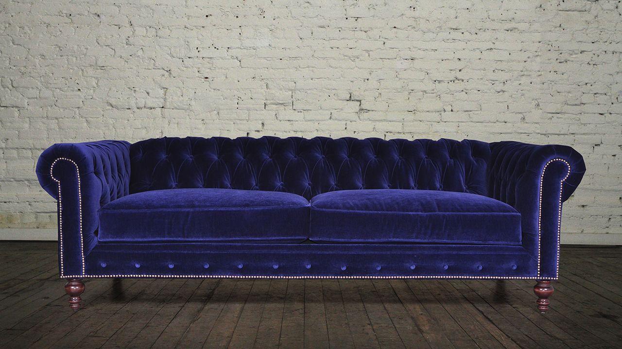 Classic Chesterfield Fabric Sleeper Sofa Maker Of Custom