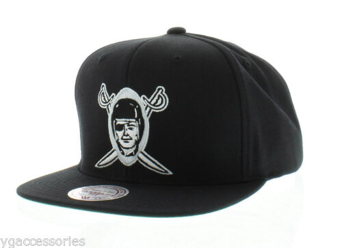 Nfl Oakland Raiders Mitchell And Ness Vintage Snapback Cap Hat M N Xl Logo New Nfl Oakland Raiders Oakland Raiders Raiders