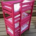 """Doll Bunk Beds for American Girl Doll and 18"""" Doll"""