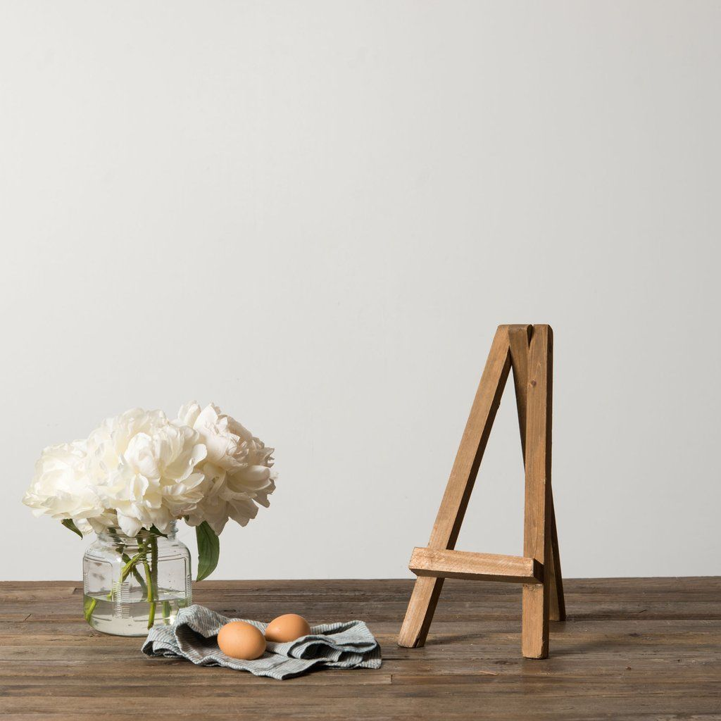 Wooden Easel (With images) | Wooden easel, Home decor ... on Easel Decorating Ideas  id=97950