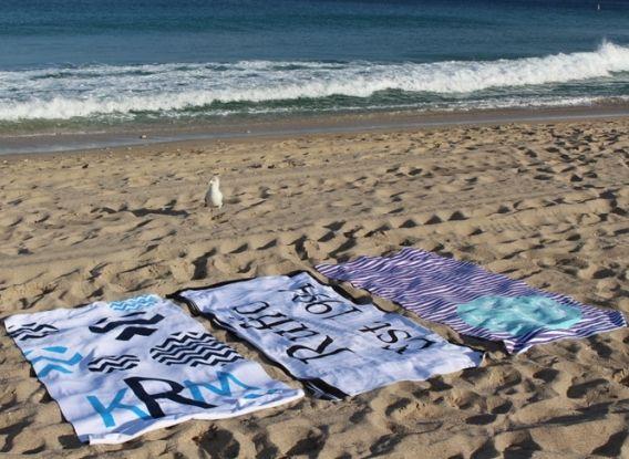 Monogrammed Beach Towels