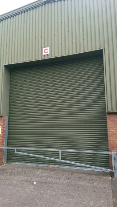 Dudley & www.worcesterdoors.co.uk industrial 3 phase plastisol finish roller ...