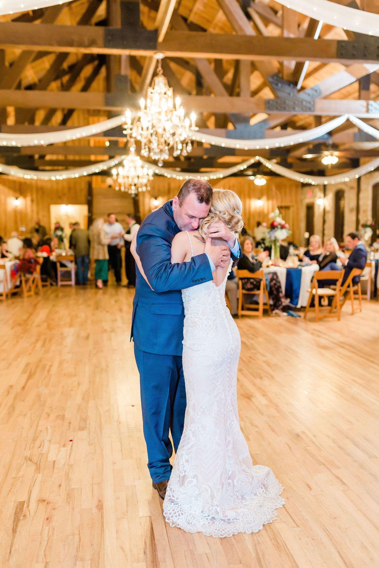 | father daughter dance | modern bohemian wedding style ...