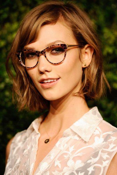 Stars Mit Brille Die Schönsten Modelle Bob Pinterest Karlie