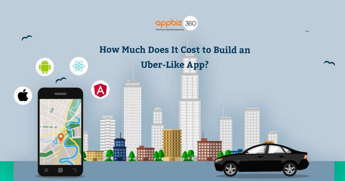 How much does it cost to build an uberlike app in 2020