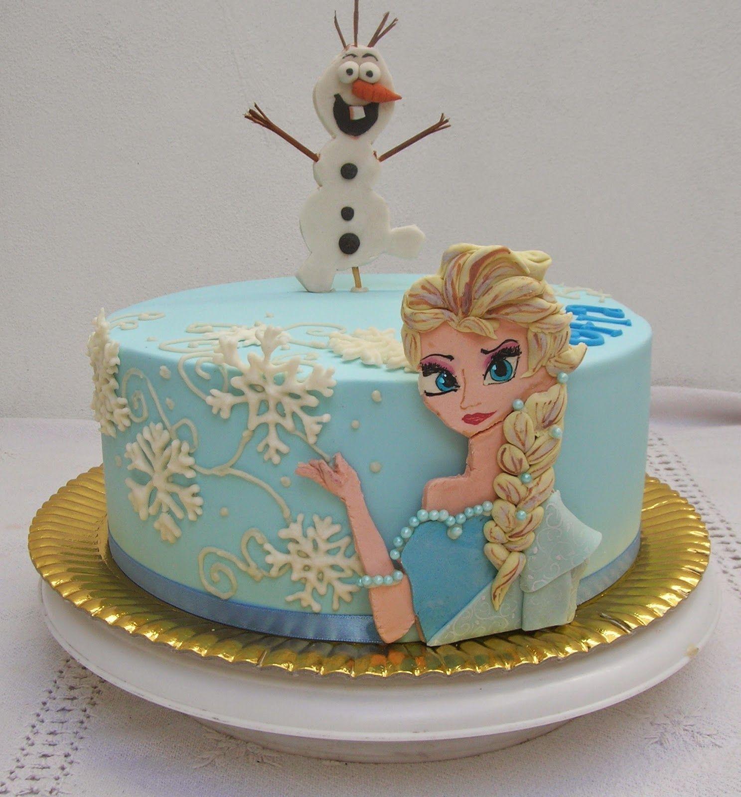 giant cupcake frozen images   Frozen II   Cake decorating ...