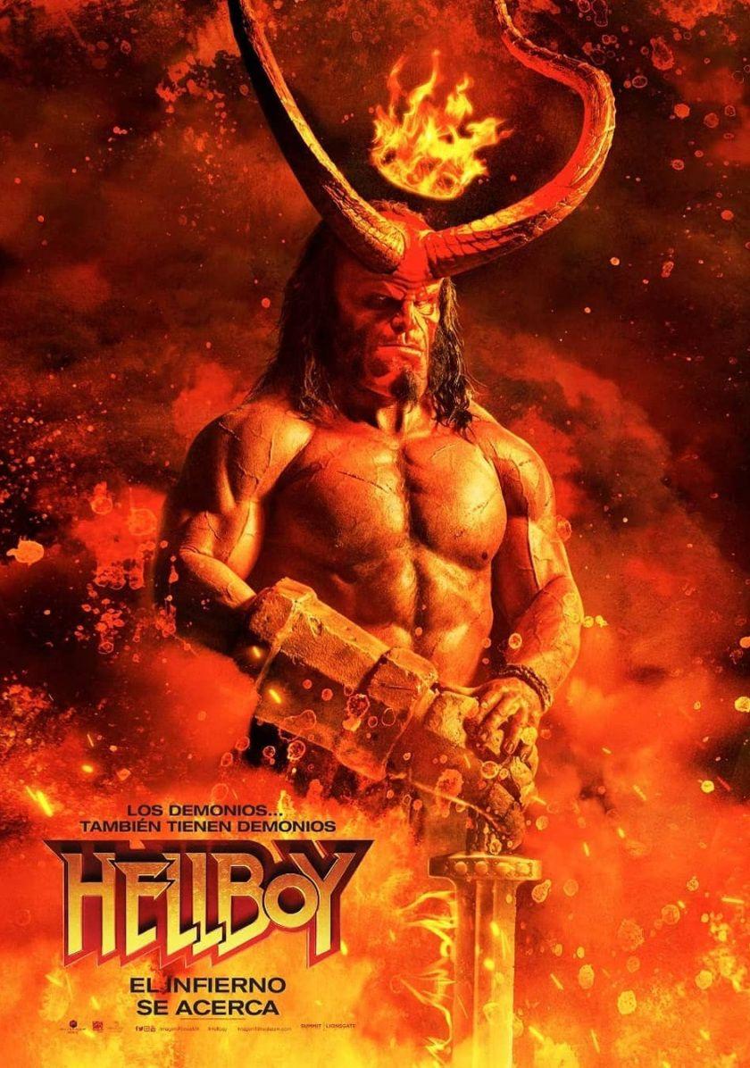 HELLBOY (2019) Estreno en Perú + Posters Película