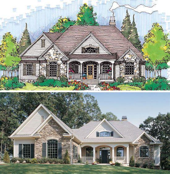 The Ryecroft Plan 824 D House Exterior Craftsman House Craftsman Style