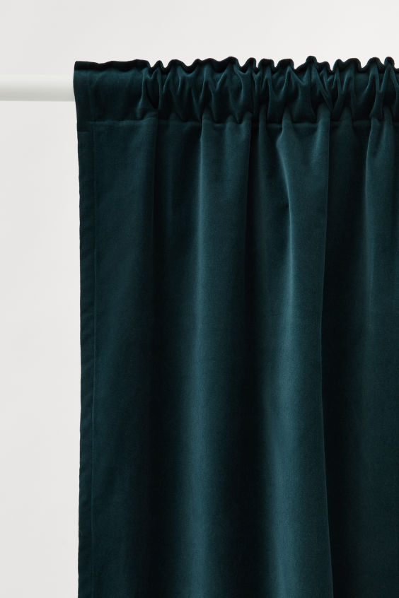 2 Pack Velvet Curtain Panels Velvet Curtains Green Shower