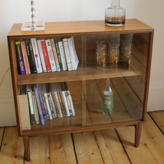 Retro Low Bookcase Google Search Vintage Bookcase Bookcase