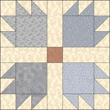 Bear's Paws from http://delawarequilts.com | Quilting | Pinterest ... : bear claw quilt pattern - Adamdwight.com