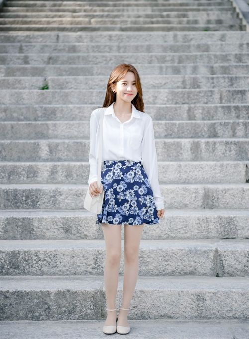 Korean Daily Fashion | Official Korean Fashion | White ...