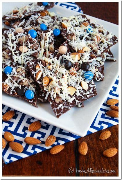 Almond Joy Bark | The Marvelous Misadventures of a Foodie