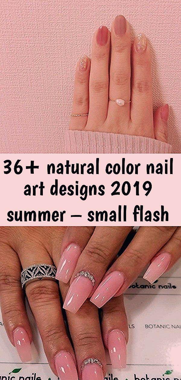 36 + natürliche Farbe Nail Art Designs 2019 Sommer – kleine Flash 45 elegante Sarg Nail Art Designs 40 stilvolle einfache Nagellack Kunst Designs für diese Summe …