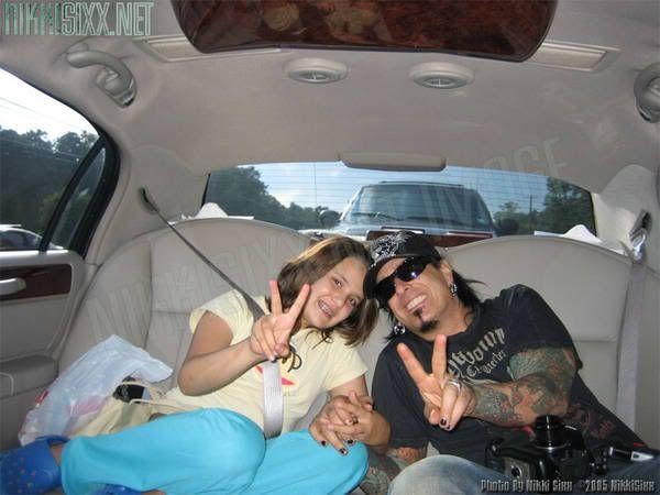 Nikki Sixx Daughter Storm