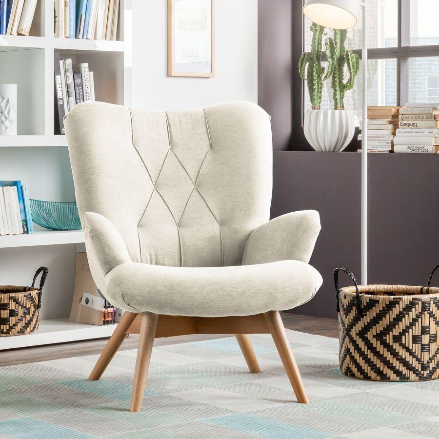 Affiliatelink Sessel Tias Webstoff Skandinavisch Design