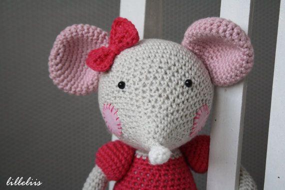 Ballerina-mouse - crochet amigurumi toy | Maus häkeln, Ballerina und ...