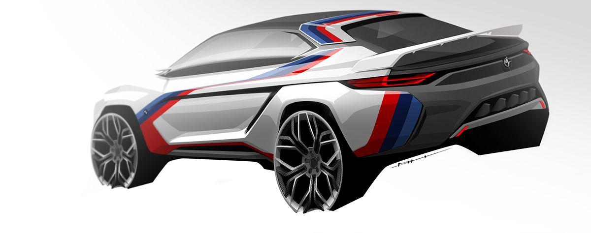 Car Design Sketchbook on Behance