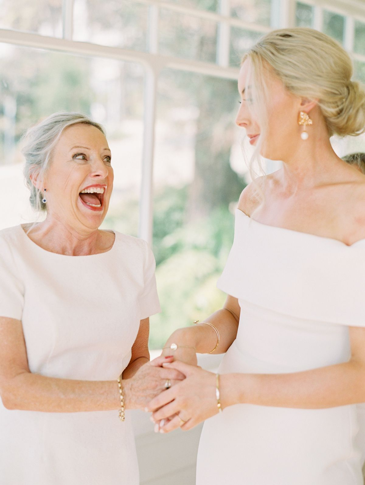 Mother Of Brides Reaction When Seeing Daughter In Dress For