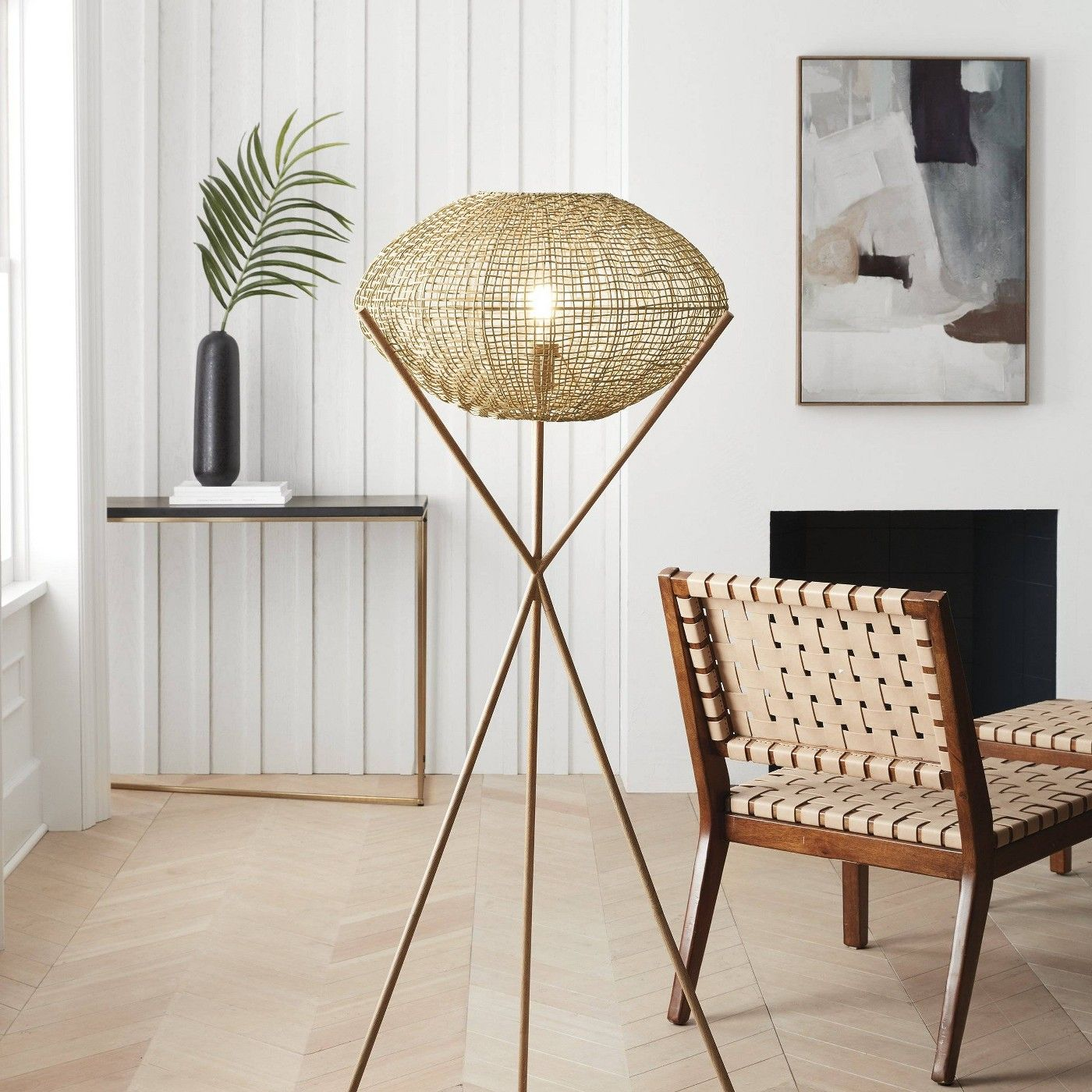 Natural Woven Tripod Floor Lamp Natural Includes Energy Efficient Light Bulb Project 62 Lea Tripod Floor Lamps Energy Efficient Light Bulbs Tripod Floor