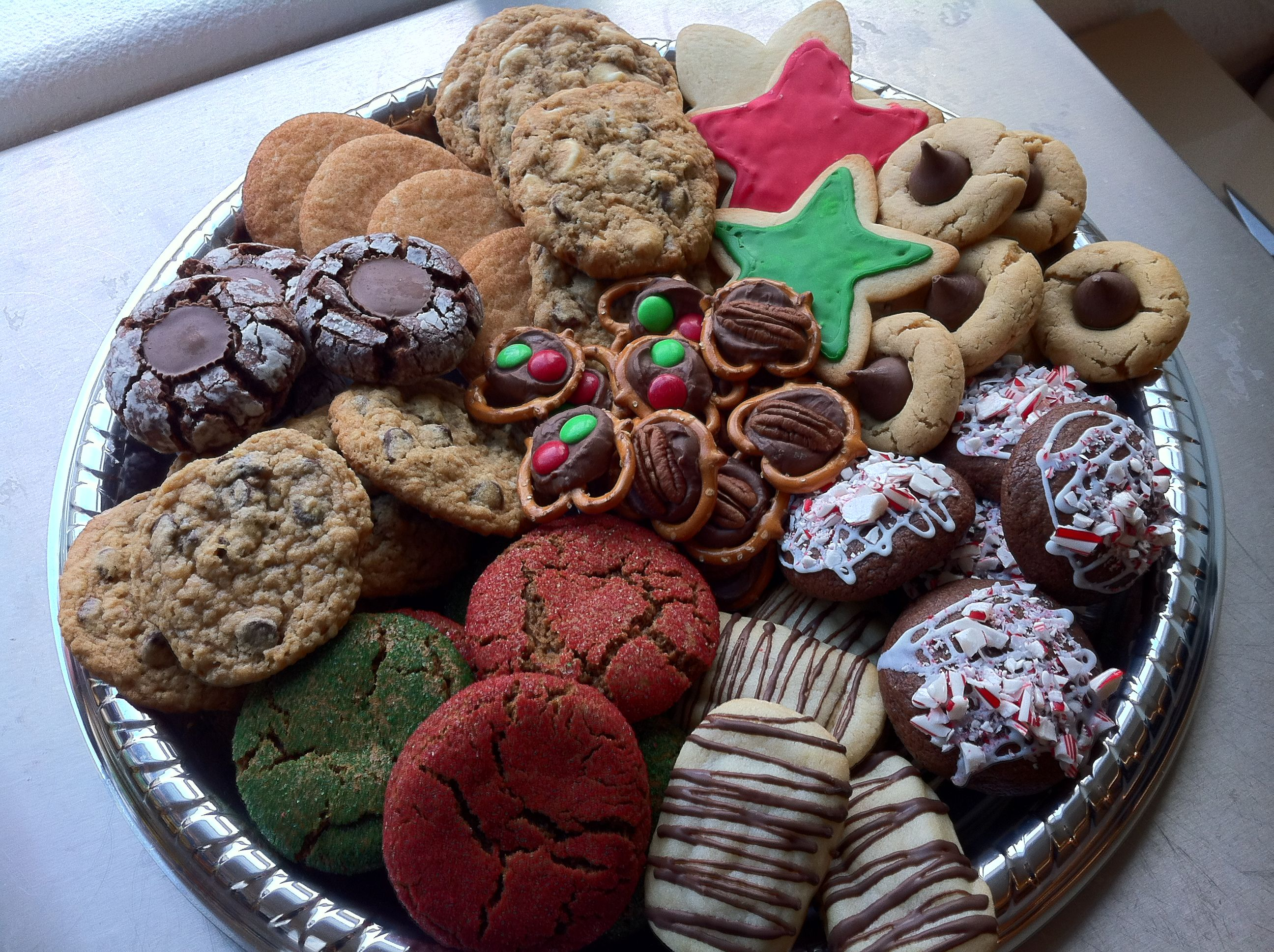 2011 Christmas Cookie Platter Christmas Food Christmas