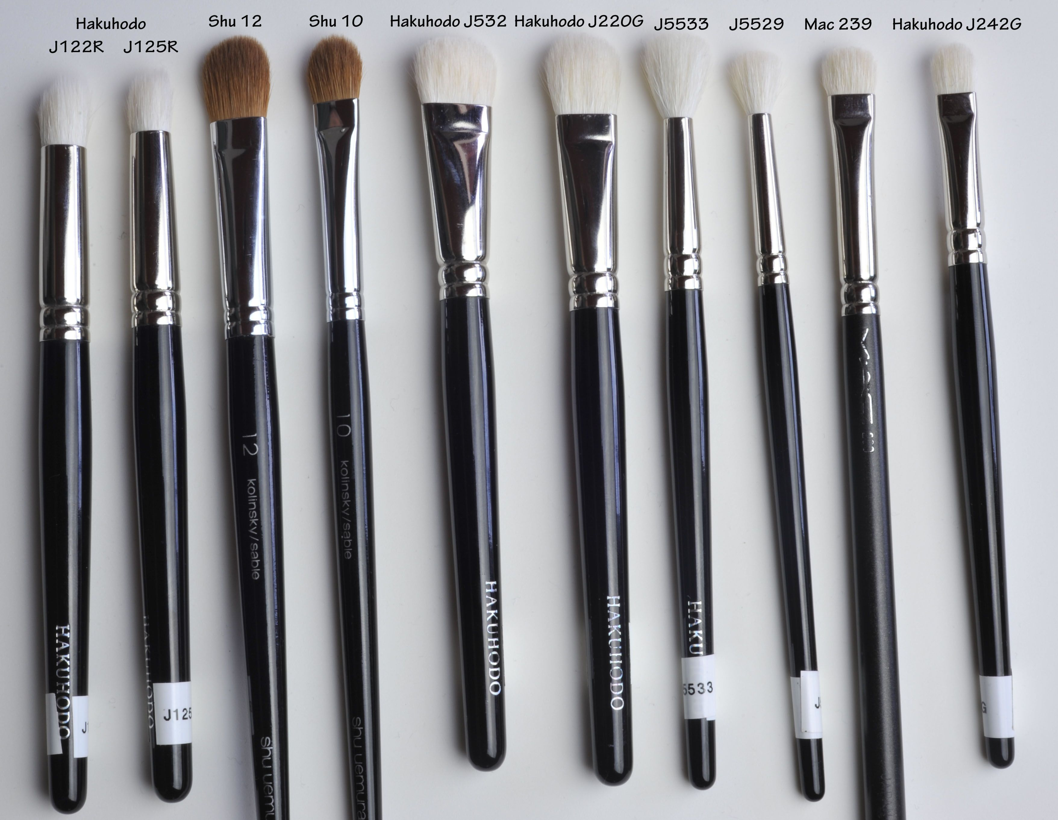 Photo of Favorite brushes in 2013