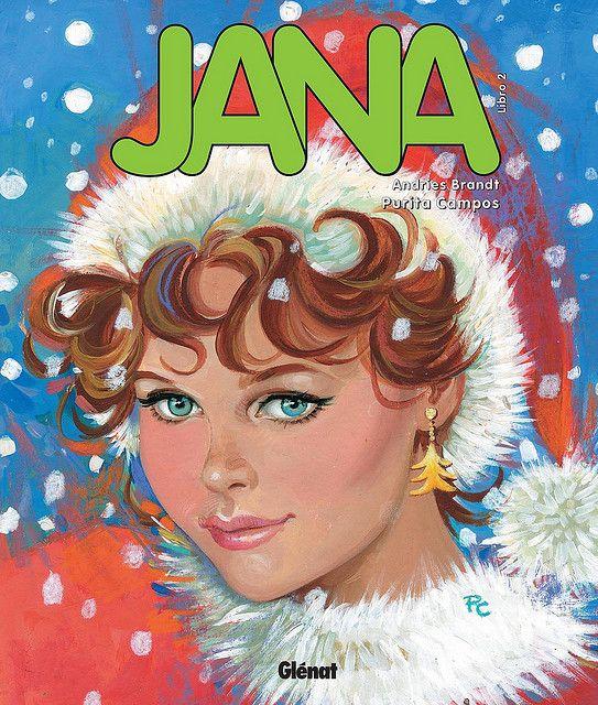 """""""Jana"""" (volumen 2), de Andries Brandt y Purita Campos. Editado por Glénat."""