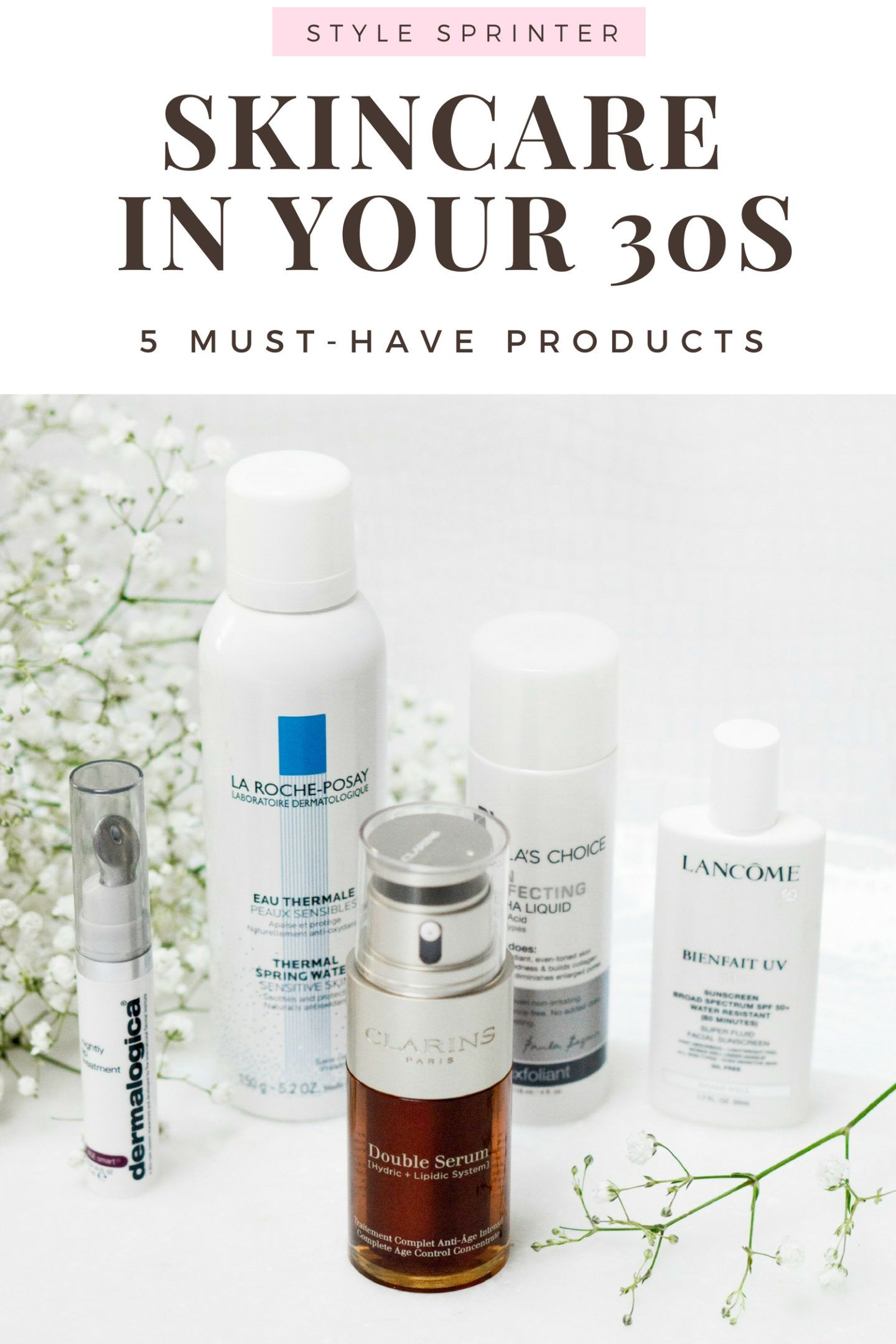The Best Skincare Products For Your 30s Style Sprinter Skin Care Best Skincare Products Skin Care 30s