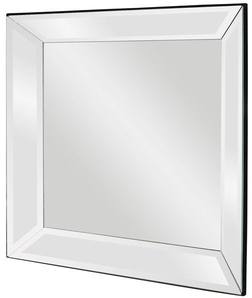 vogue mirrored frame mirror 30x30x3 from classy mirrors - Mirror Picture Frames