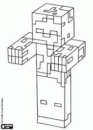 Kleurplaten Minecraft Zombie.Minecraft Zombie Knutselen Google Zoeken Zombie