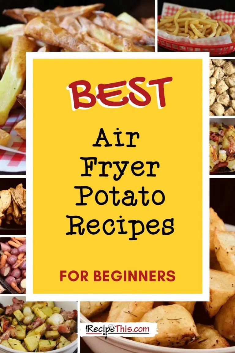 The Air Fryer Potato Cookbook Recipe This in 2020