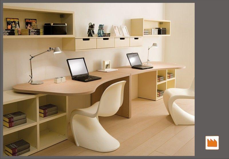 Due scrivanie cameretta soggiorno scrivania