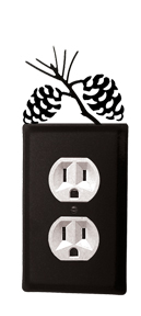 Pinecone Outlet Cover