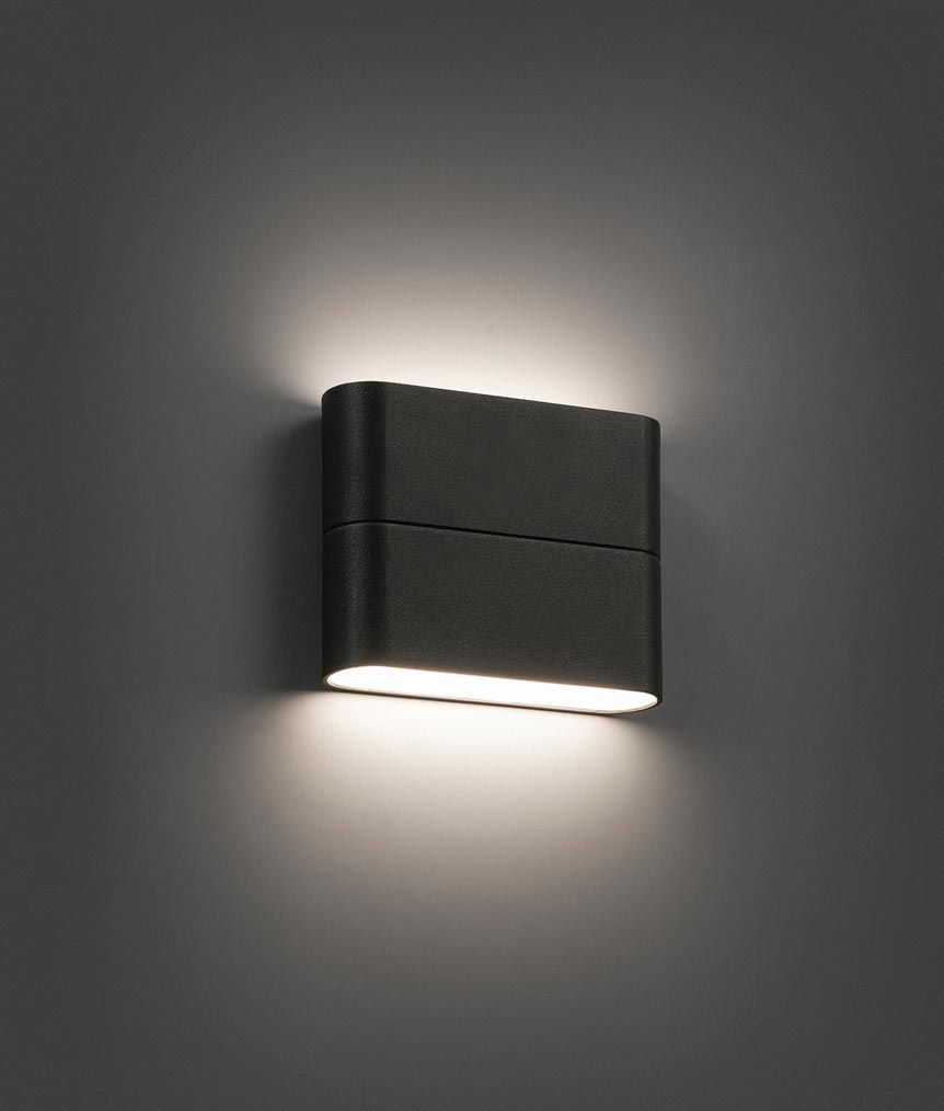 Lampara Aplique Led Gris Aday Lamparas De Pared Modernas Apliques De Pared Iluminacion De Pared