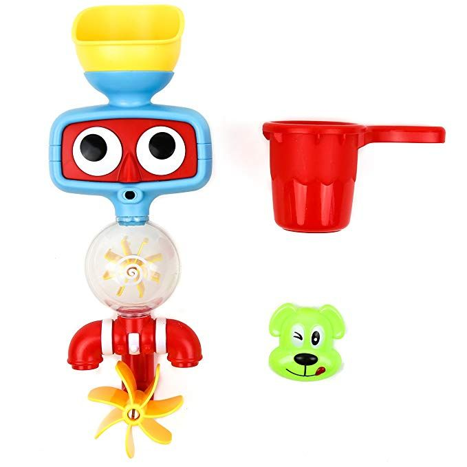 Baby Bath Toys Kids Water Spray Tube Shower Station Toy