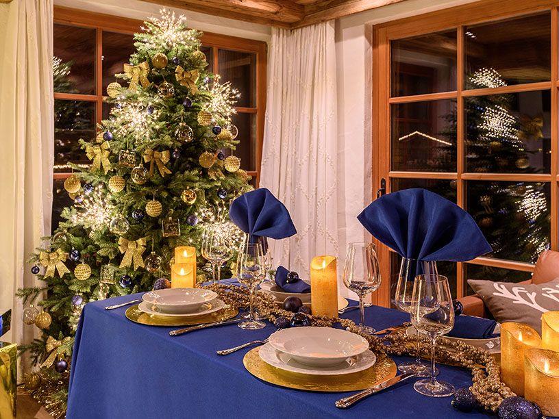Idee per il centrotavola di Natale | Decorazioni per ...